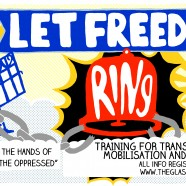 Let Freedom Ring! Winter Activism School -Training for Transformation in the UK