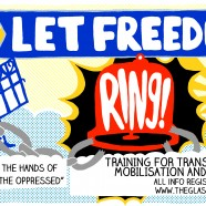 Get in there quick! 20 spaces for Glasgow 'Let Freedom Ring!' training – April 6th 2013 – 4-6pm